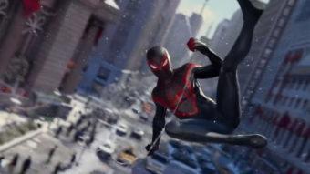 Sony mostra jogos de PS5: GTA 5 melhorado, novo Spider-Man e mais