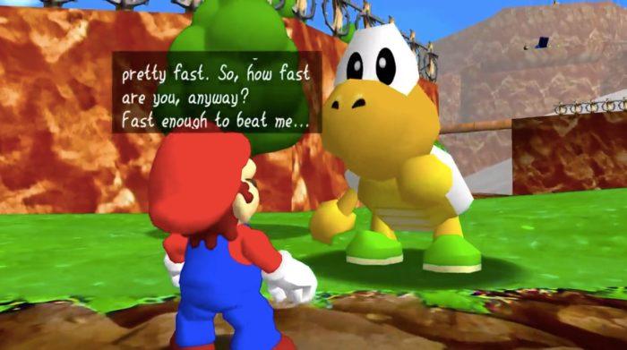 Detalhes da versão não-oficial de Super Mario 64 em HD para computador (Foto: Reprodução/YouTube)