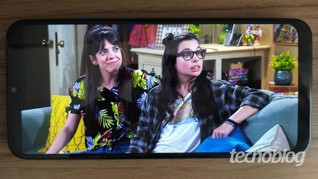 Netflix no Moto G8 Power Lite