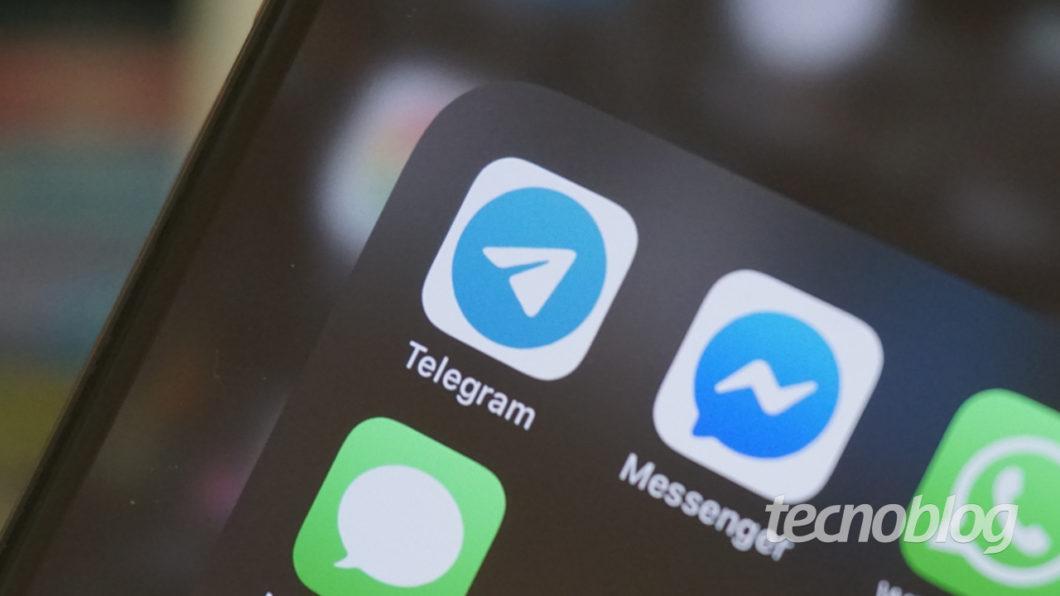 Telegram no iPhone (Imagem: André Fogaça/Tecnoblog)