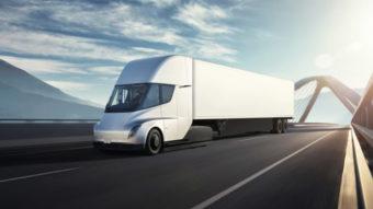 Tesla atinge valor recorde após promessa sobre caminhão elétrico Semi