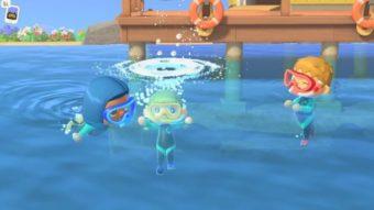 Nintendo libera função de nadar em Animal Crossing: New Horizons