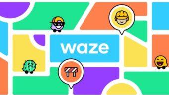 Waze ganha visual com cores mais vibrantes e novos humores