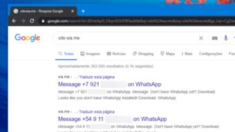 WhatsApp expõe 263 mil números de celular no Google e pede remoção