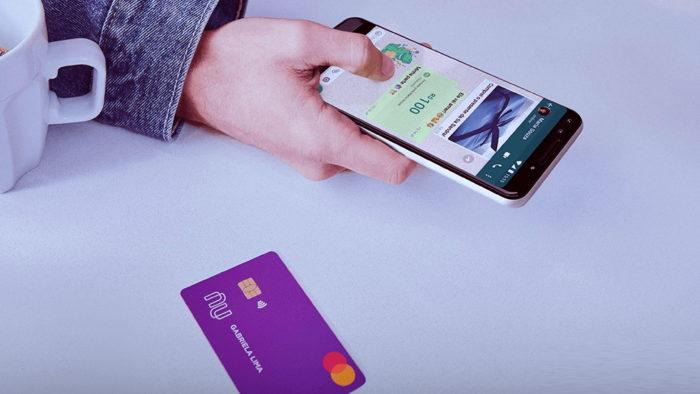 Pagamentos pelo WhatsApp: como aparece no extrato bancário? (Imagem: Divulgação/Nubank)