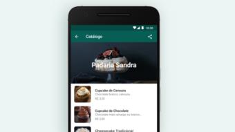 Como compartilhar produtos ou serviços do catálogo do WhatsApp