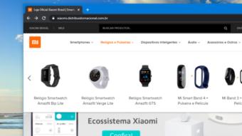 Xiaomi Amazfit GTS, Bip Lite e Verge Lite chegam ao Brasil em loja oficial