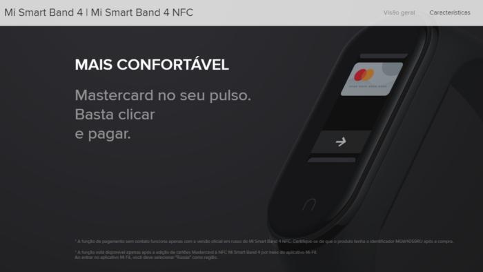 Xiaomi Mi Smart Band 4 NFC