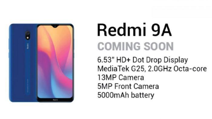 Detalhes do Xiaomi Redmi 9A (Foto: Reprodução/GSMArena)