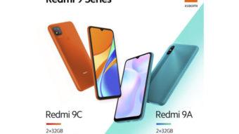 Xiaomi lança Redmi 9A e Redmi 9C com bateria de 5.000 mAh