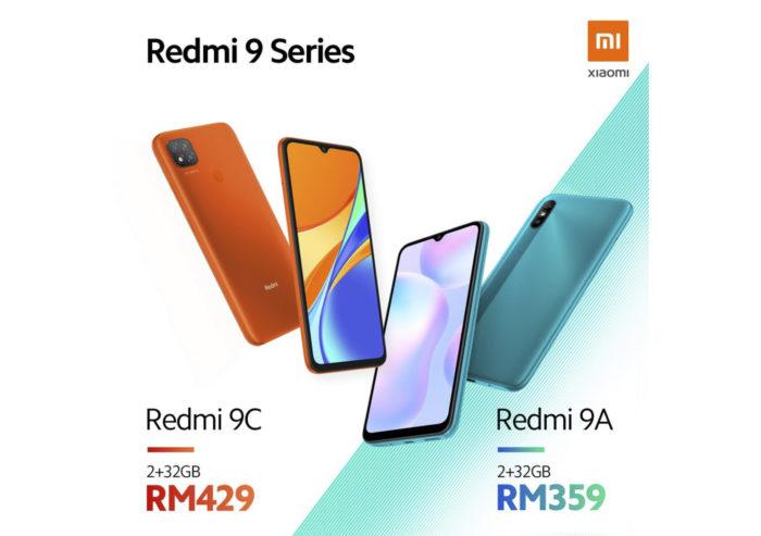 Xiaomi Redmi 9A e Xiaomi Redmi 9C (Foto: Divulgação/Xiaomi)