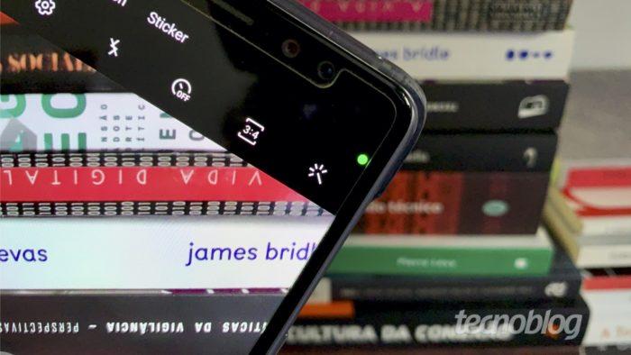 Access Dots mostra quando sua câmera ou microfone foi acessada no Android (Foto: Bruno Gall De Blasi/Tecnoblog)