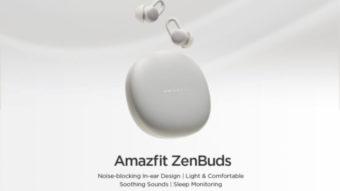 Amazfit Zenbuds: fones sem fio para dormir prometem sono melhor