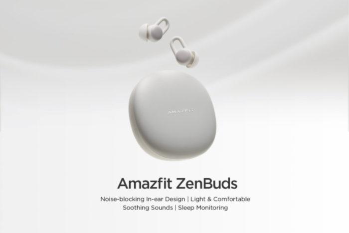 Amazfit Zenbuds (Foto: Divulgação/Huami Amazfit)