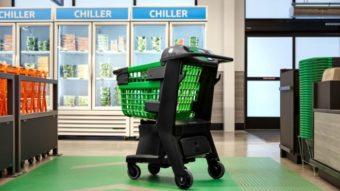 Dash Cart é um carrinho da Amazon que dispensa caixas no mercado