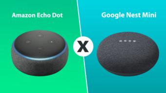 Amazon Echo Dot ou Google Nest Mini: qual é melhor?