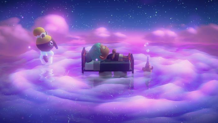 animal crossing new horizons viagem sonho