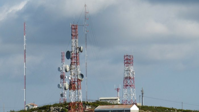 Antenas de telecomunicações. Foto: Pixabay
