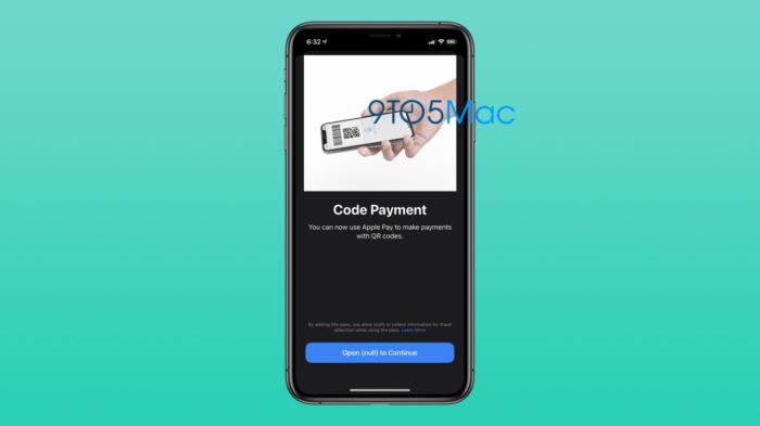 Apple trabalha em sistema de pagamento via QR Code com Apple Way (Foto: Reprodução/9to5Mac)