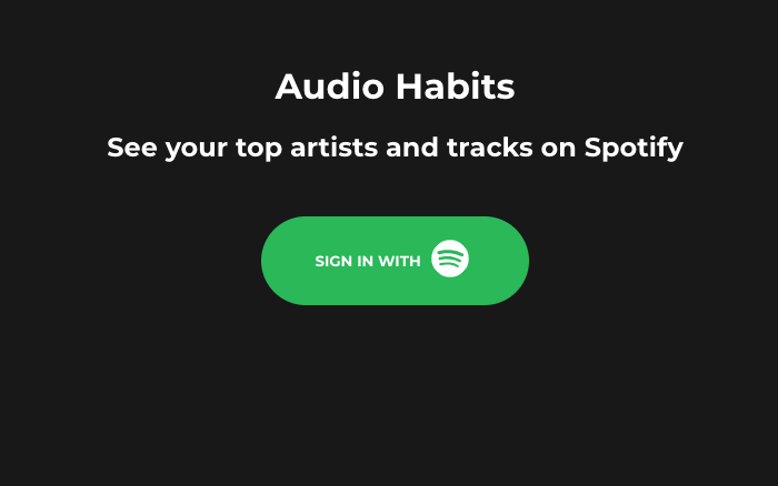 AudioHabits.co