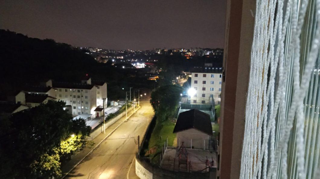 Foto noturna feita com o LG K41S
