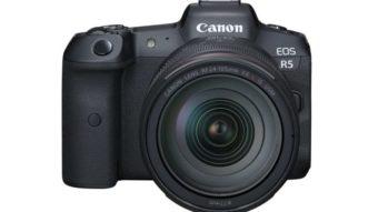 Canon EOS R5 de 45 megapixels grava vídeo em 8K