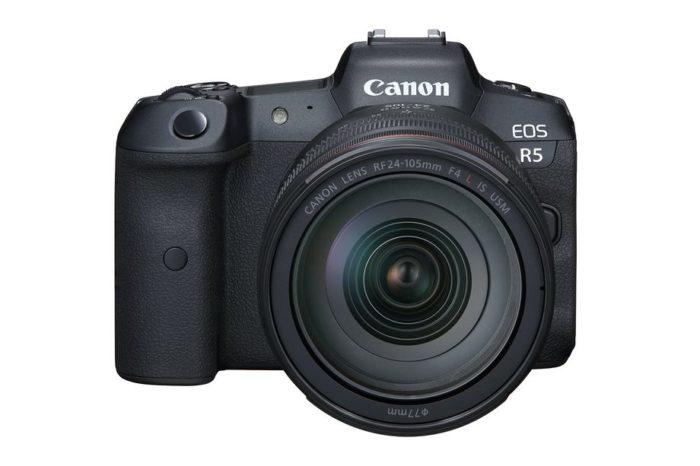 Canon EOS R5 (Foto: Divulgação/Canon)