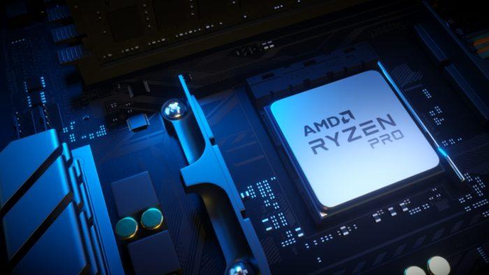 Processador AMD Ryzen Pro (imagem: divulgação/AMD)