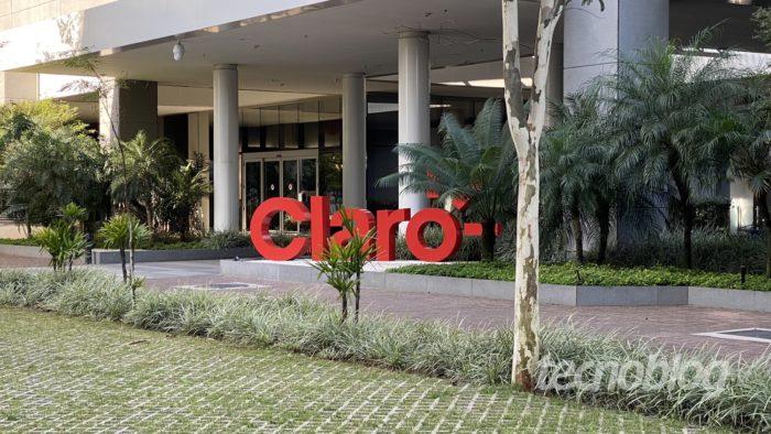 Sede da Claro em São Paulo (Foto: Paulo Higa/Tecnoblog)