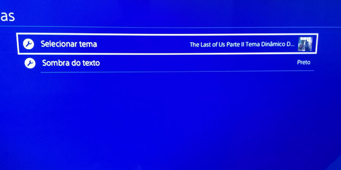 Como baixar temas no PS4