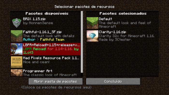 Como colocar textura Minecraft / Diego Melo / Reprodução
