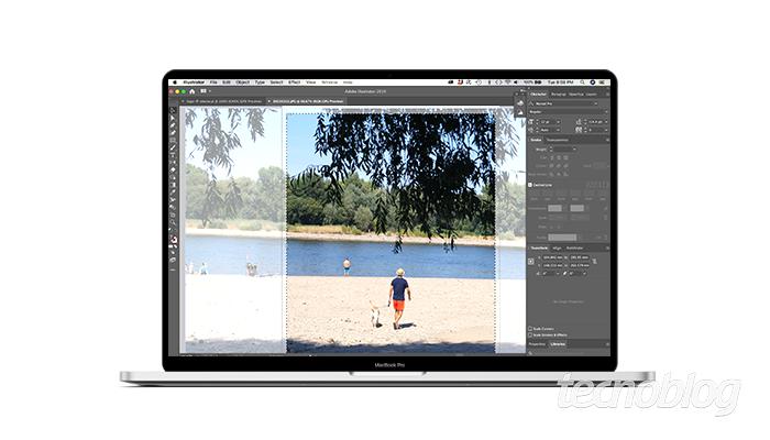 Como cortar uma imagem no Illustrator
