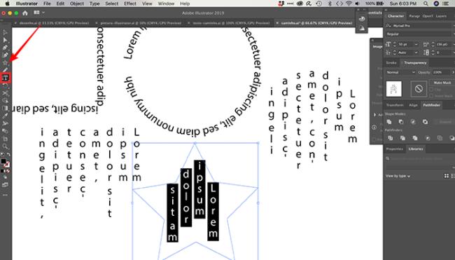 Como fazer texto curvado no Photoshop e Illustrator [Caminho]