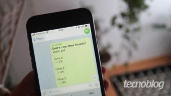Como fazer uma enquete no Telegram [@vote]