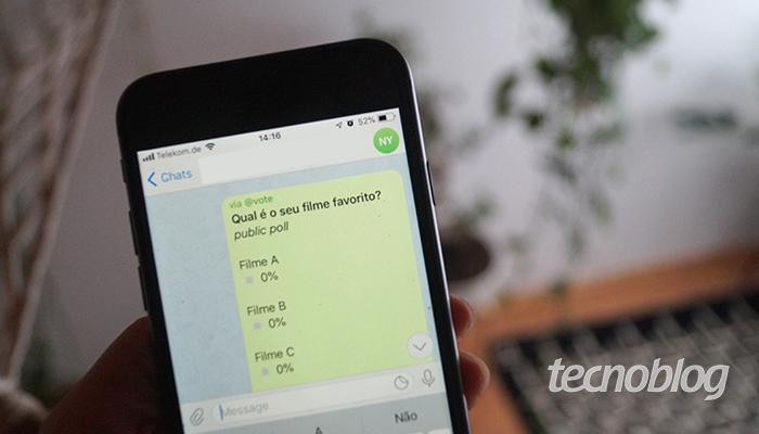 Como fazer uma enquete no Telegram