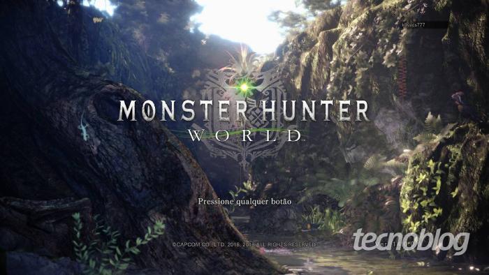 como jogar monster hunter world / Leandro Kovacs / Foto