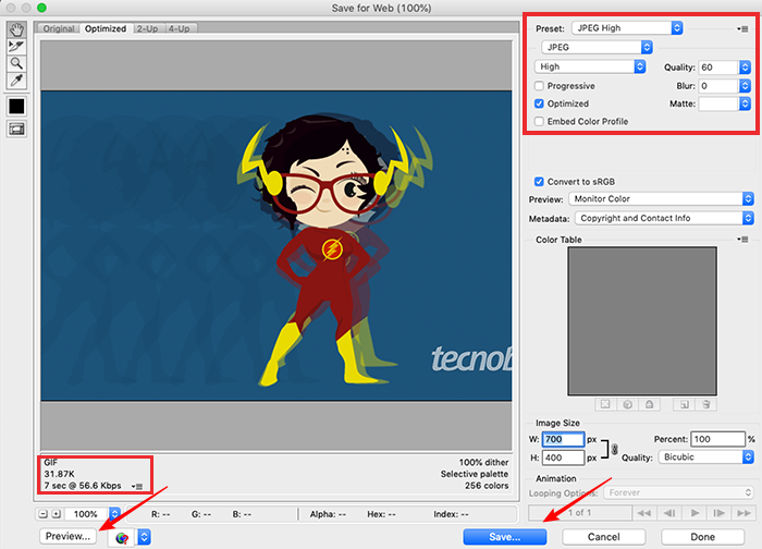 Como otimizar imagens para web