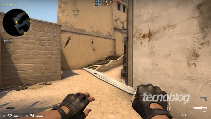 como testar e usar comandos de faca no CSGO / Leandro Kovacs / Foto