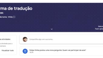 Como usar o Google Meet para dar aulas [Escola online]