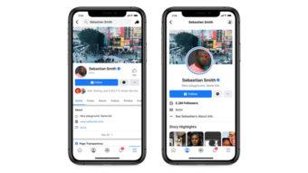 Facebook testa novo layout de páginas em aplicativo sem botão Curtir