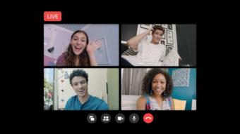 Facebook lança Messenger Rooms Live para transmitir até 50 pessoas ao vivo