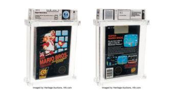 Cópia lacrada de Super Mario Bros. é o jogo mais caro já vendido