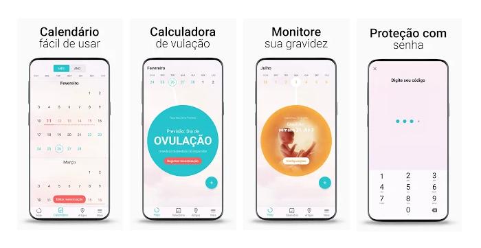 Flo - Calendário Menstrual/Reprodução