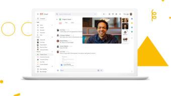 Gmail para empresas tem maior integração com Meet, Docs, Calendar e mais