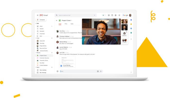Gmail para empresas tem maior integração com Meet, Docs, Calendar e mais (Foto: Divulgação/Google)