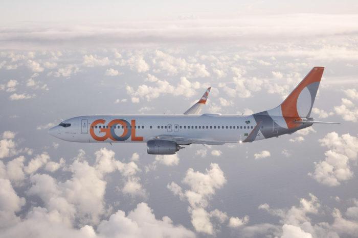 GOL aviao boeing 737 800