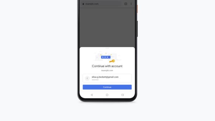 Google Chrome para Android ganha confirmação de cartões de crédito via biometria (Foto: Divulgação/Google)