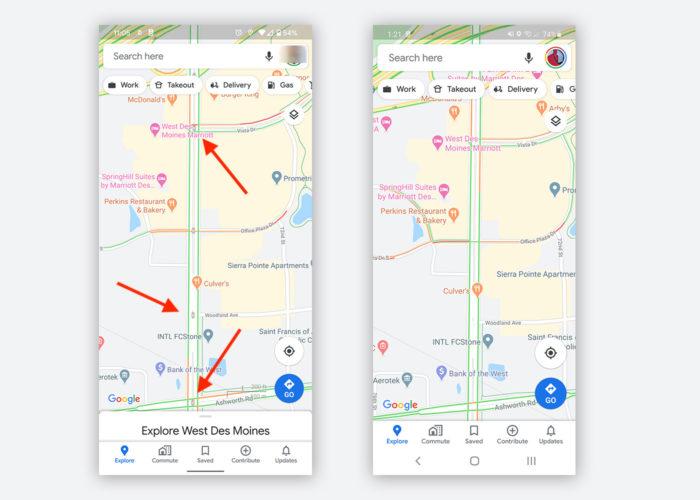 google maps semaforos estados unidos