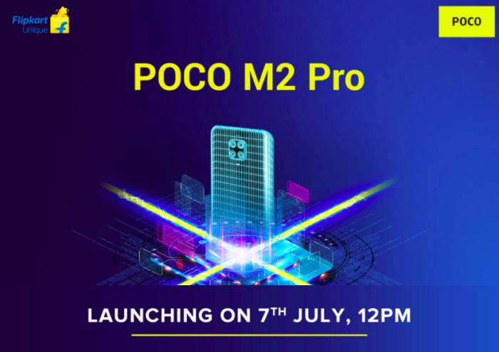 Lançamento do Xiaomi POCO M2 Pro (Foto: Divulgação/Flipkart)