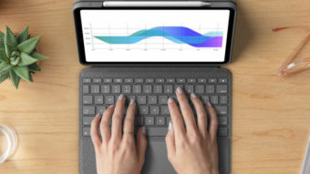 Logitech lança capa com teclado e touchpad para iPad Pro